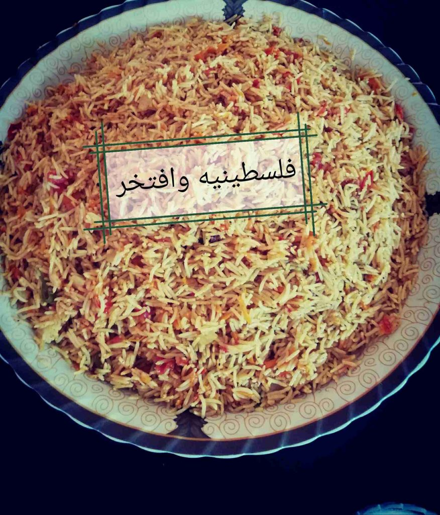 ارز البخاري اللذيذ كل خطوه بصوره عنجد بنصحكو تجربوه مسابقة ملكة الارز