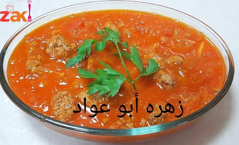 طريقة عمل داود باشا مع الطماطم