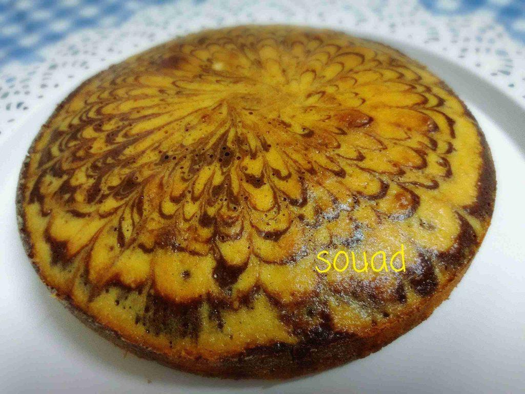 سلسلة طبخاتي المصورة مع souad hosna الوصفة الثالثة:زيبرا كيك