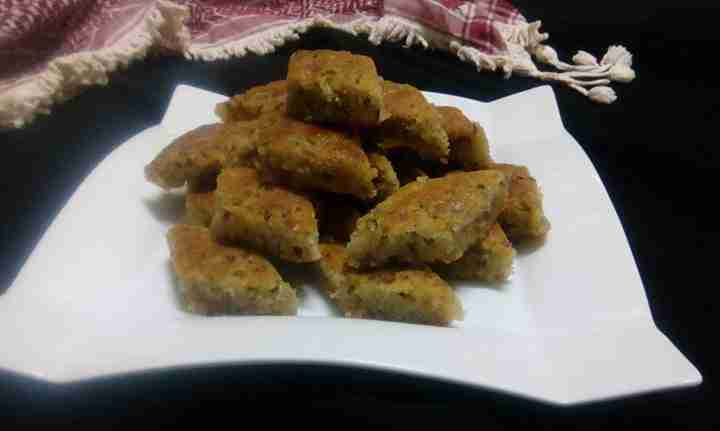 سلسلة اكلات امي هريسة الحلبة