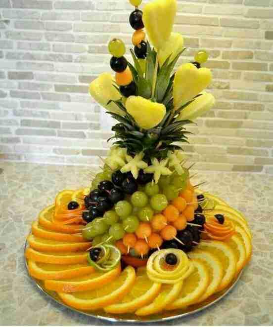 تزيين الفواكه