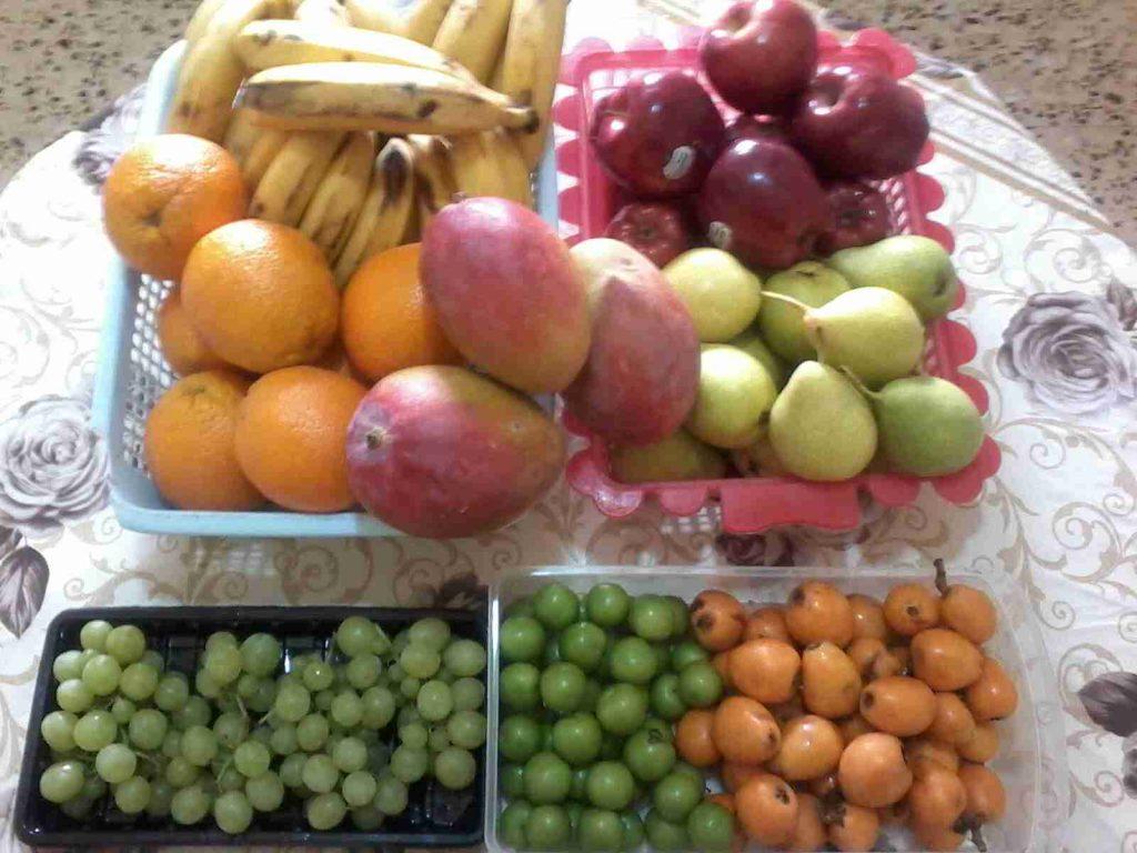 ماذا يحدث لجسمك ان اكلت مجرد فاكهة او خضار من سلسله صحه ورشاقه وجمال