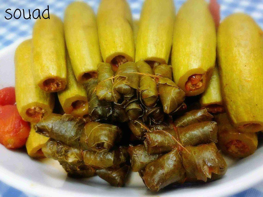 سلسلة طبخاتي المصورة مع souad hosna الوصفة السابعة :محاشي بصلصة الطماطم
