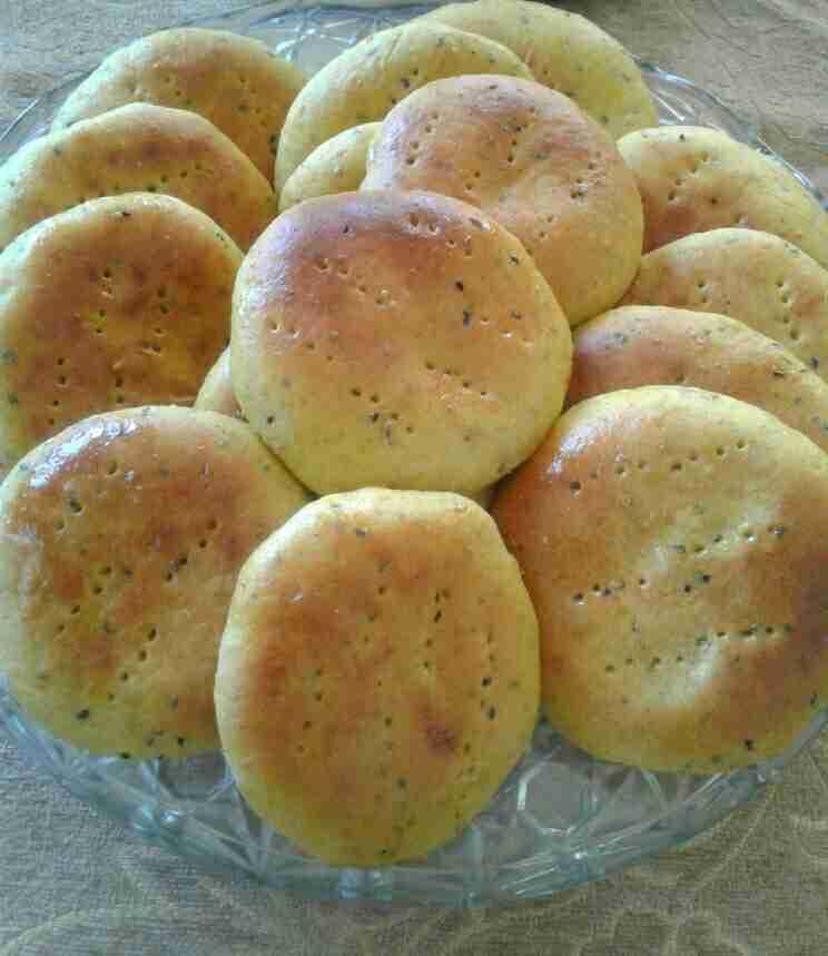 أقراص العيد أو خبز العيد بأسهل طريقة ومن غير قالب