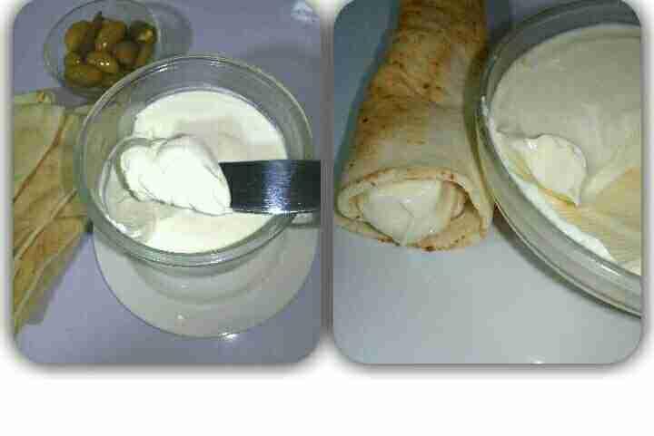 الجبنة الدهن البيضا والصفرا