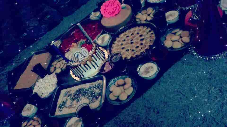 حفله عيد ميلادي