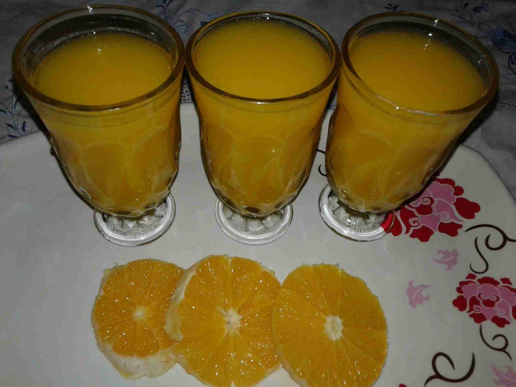 عصير البرتقال والحزر والليمون المنعش.....ملكة رمضان