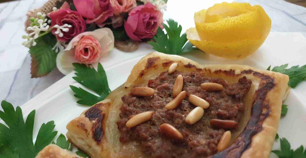 لحم بعجينة البف باستري سهله وسريعه فاخر عالآخر ملكة رمضان