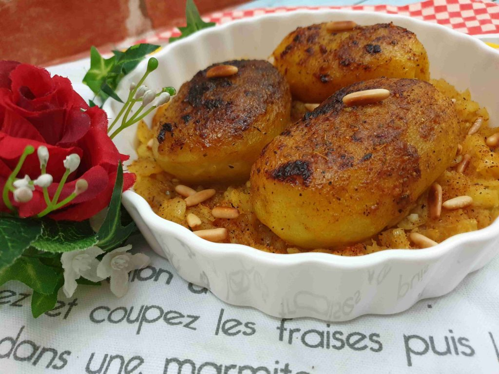 مخشي البطاطا بالثوم والليمون رهيييييييبه ملكة رمضان