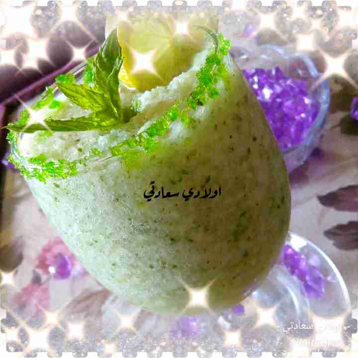سلاش الليمون بالنعناع #ملكة_رمضان