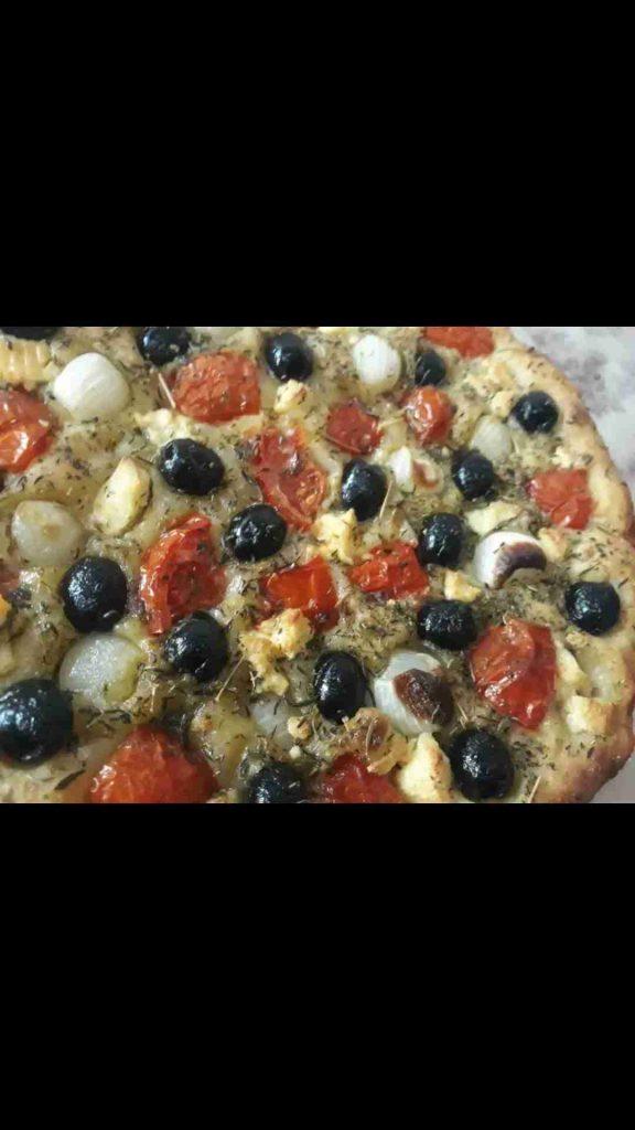 خبز الفوكاشيا الايطالي... #ملكة_رمضان....