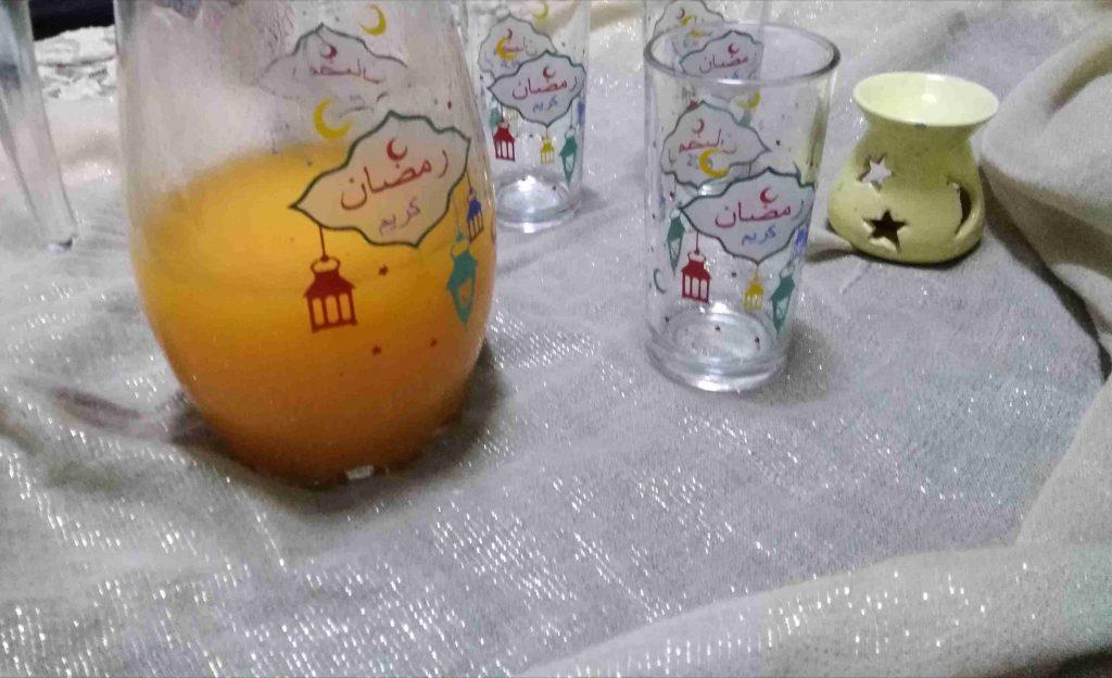 عصير قمر الدين، ملكة رمضان