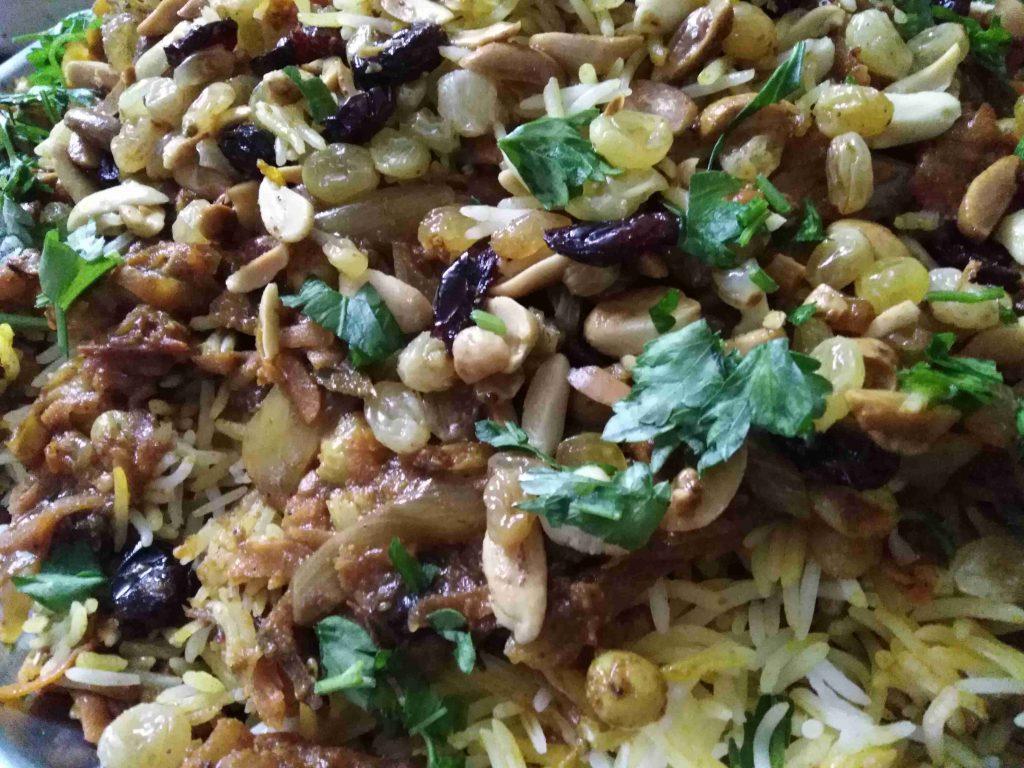 الأرز الإيراني، ملكة رمضان