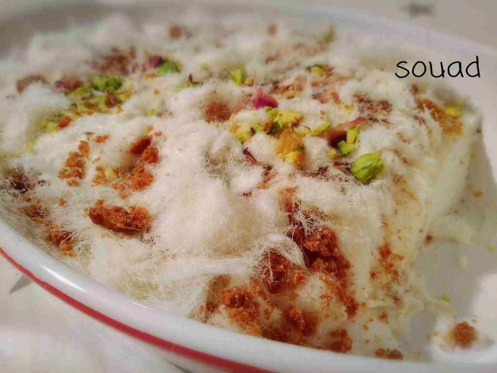 ملكة رمضان.... الغزلية حلى سهل ولذيذ..تابعوا الطريقة... معكم الشيف souad hosna
