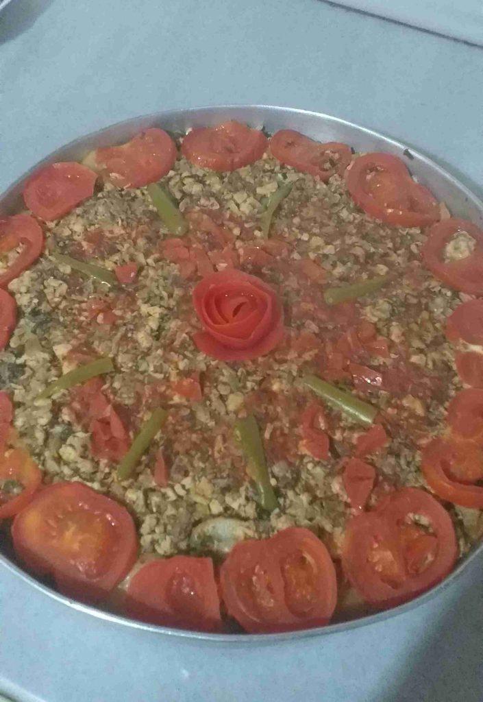 صينيه بطاطا بل لحمه ملكه رمضان