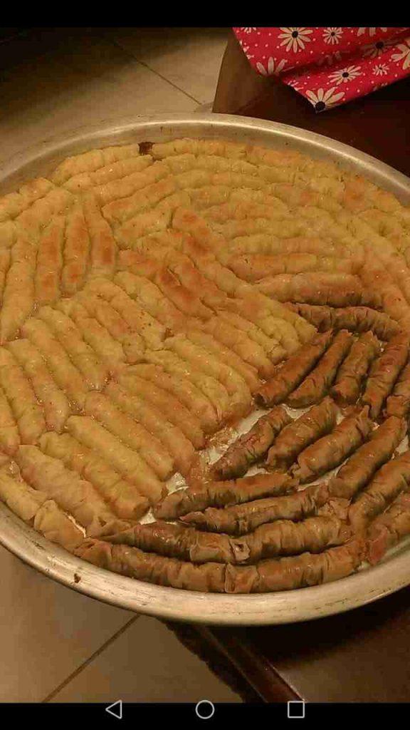 كلاج بالجبنه والجوز ملكه رمضان