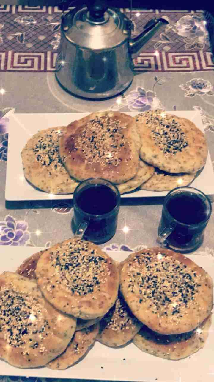 خبز باليانسون والشومر محشي جبنه وجبة سحور ملكة رمضان
