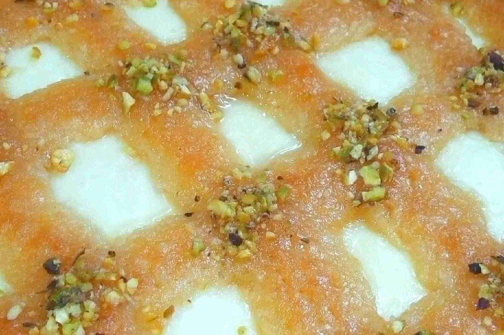 حلوى اللينزا — ملكة الحلويات المصرية—