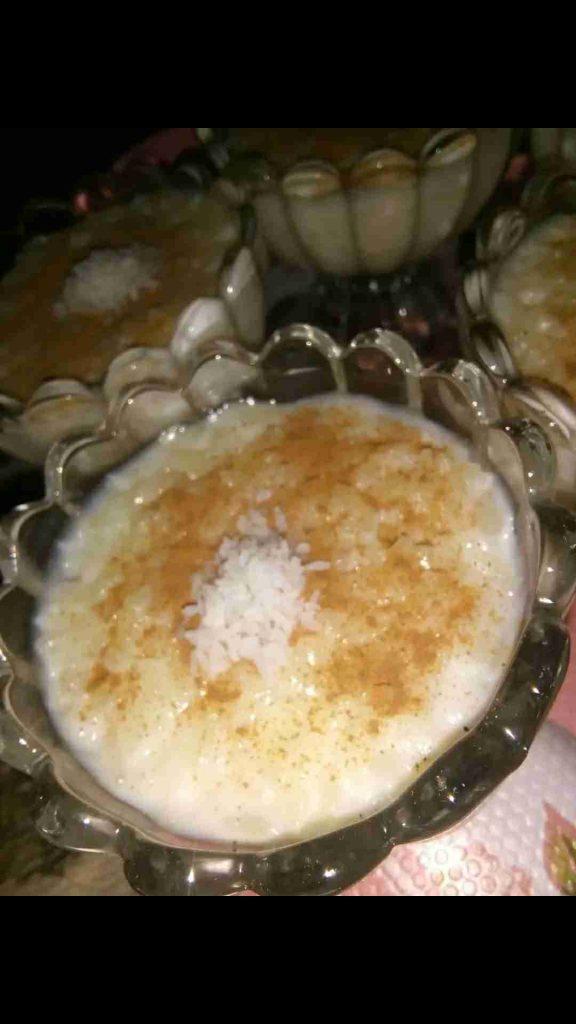 ارز بالحليب ملكه الحلويات الشاميه