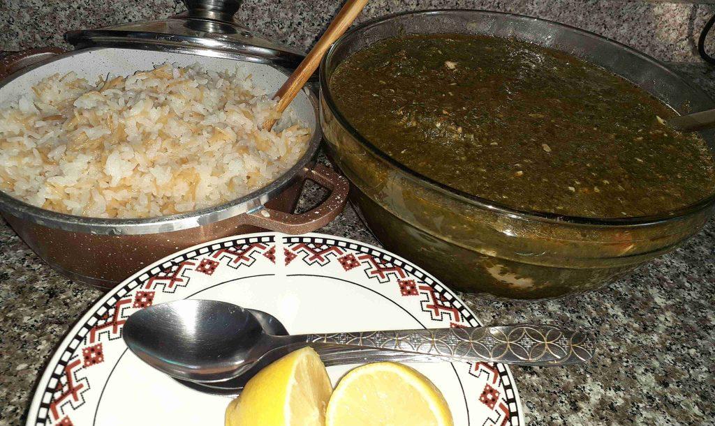 ملوخية أكلة ملوكية ملكة الأكلات العربية