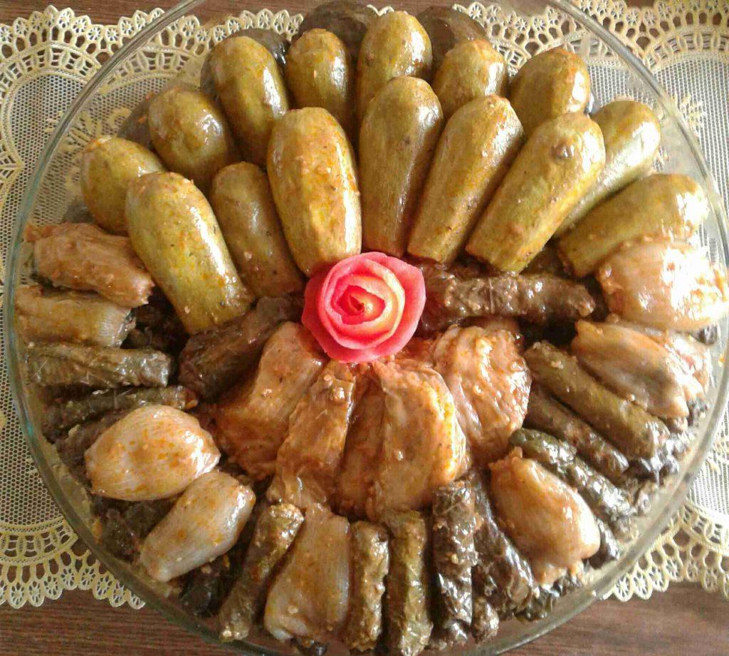 الدولمة ملكة الأكلات العراقية