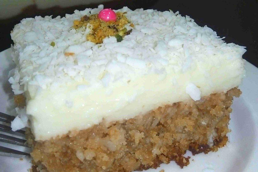 الكيكة القبرصية الشهيرة ( طلعت مش كيكة طلعت قنبلة نووية)