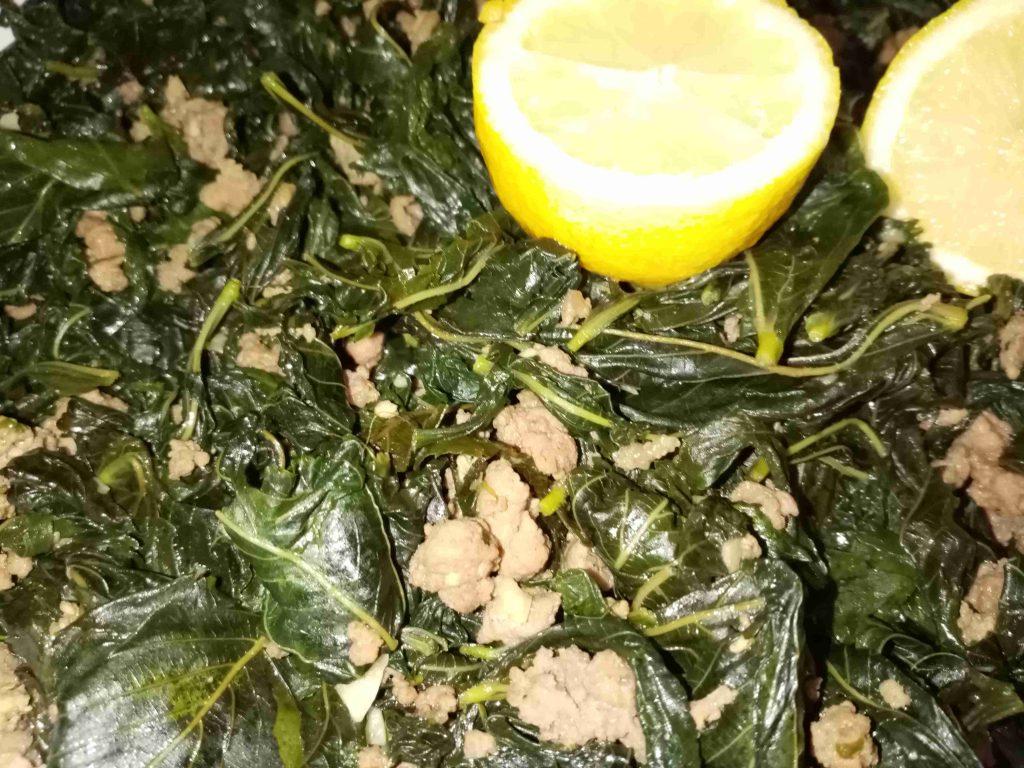 الملوخيه الخضرا