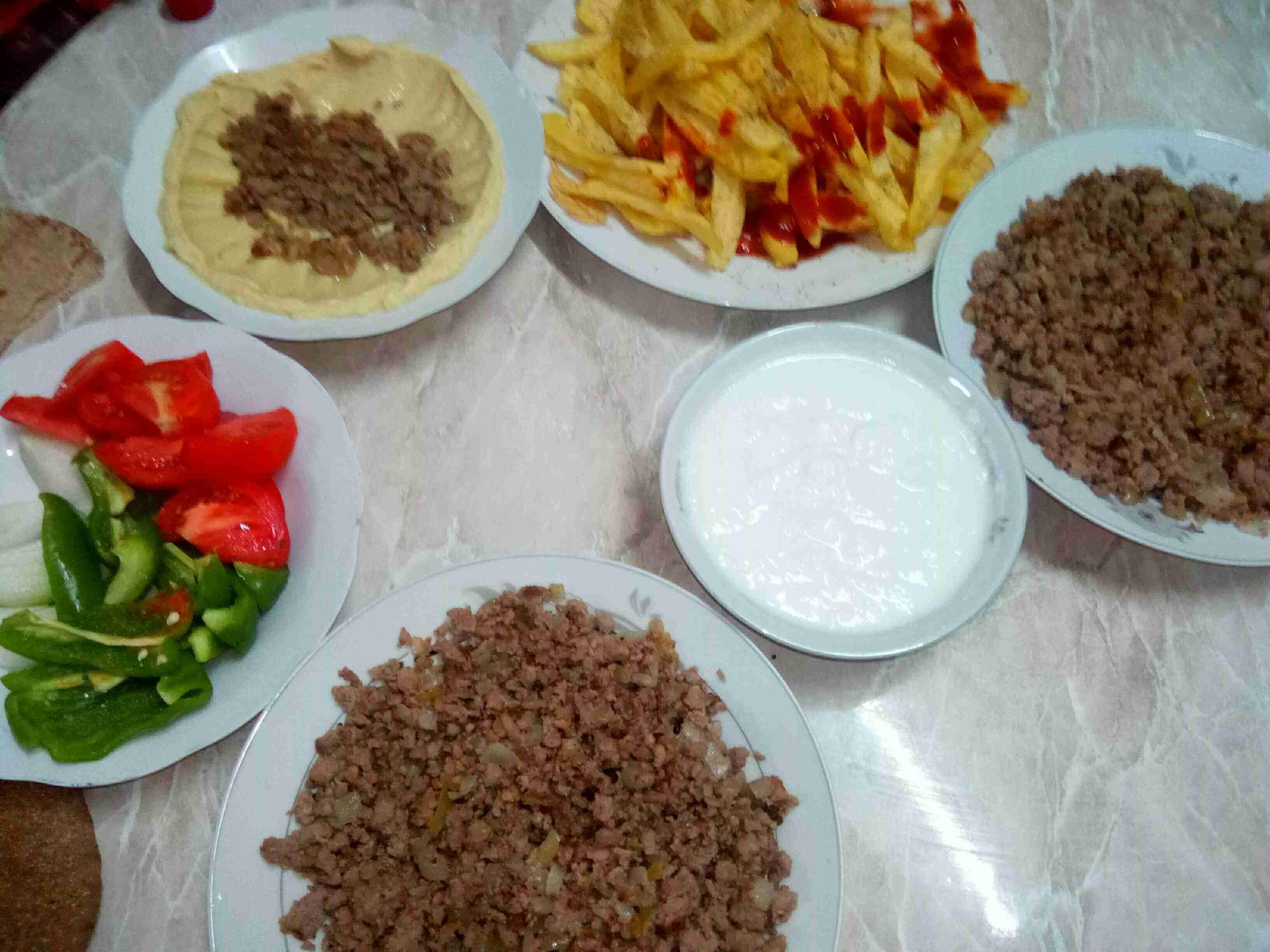 لحمة مفرومة بالبصل سلسلة طبخاتنا الشعبية 4 ملكة الأكلات الأردنية