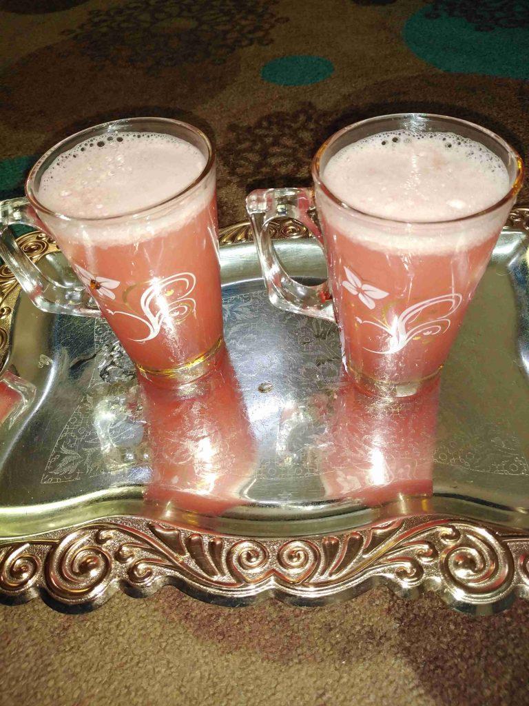 عصير بطيخ منعش