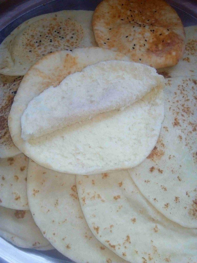 خبز عربي خالي من الجلوتين سلسلة صحتي في غذائي