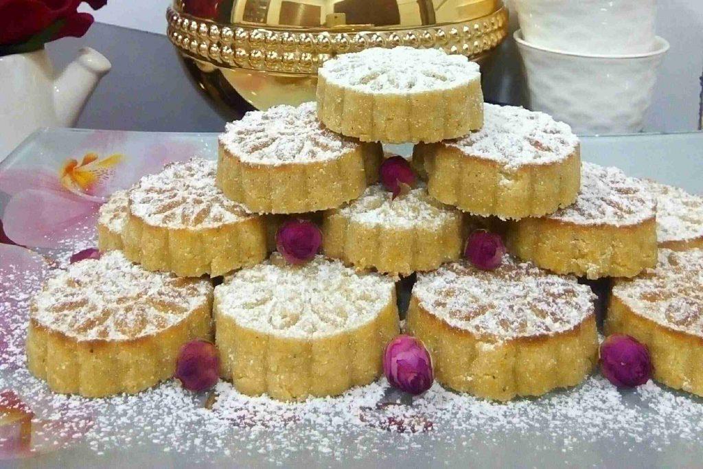 معمول سميد لذيذ وسريع وسهل جدا عيدكم مبارك