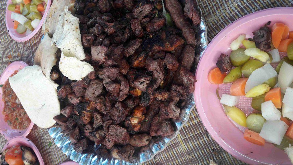 مشاوي لحمة شقف ملحة اكلات اللحوم