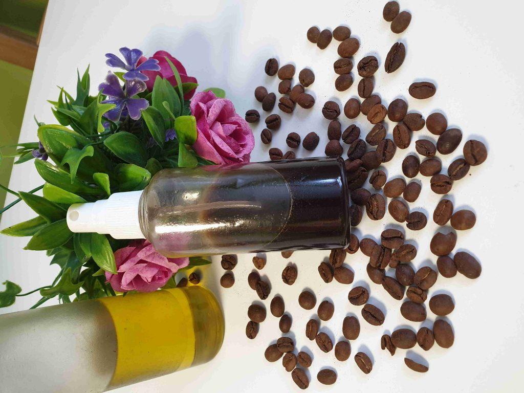 ماسك القهوه مع زيت الزيتون للهالات السوداء والعيون المرهقه ملكة الابداع