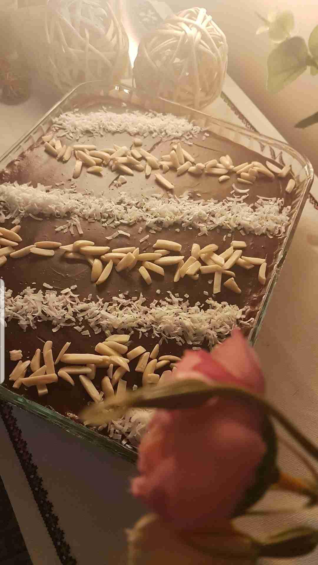 مسابقه ملكه الحلويات البارده حلى البفاريا