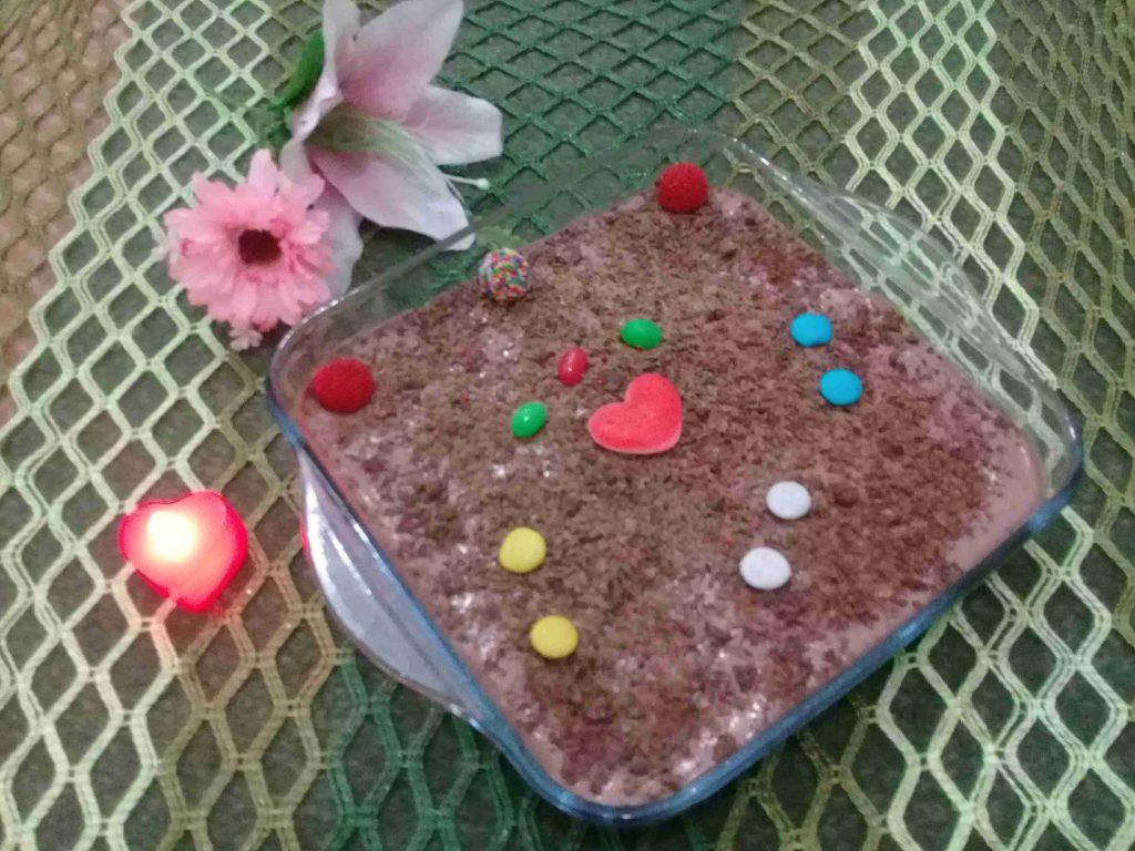 حلا الشوكولاته بطريقتي كتير زاكي وخفيف سلسله حلوياتي البارده ٥ ملكه الحلويات البارده
