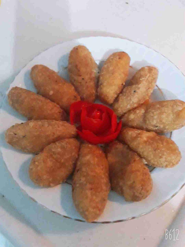☆كروكيت بطاطا بالجبنة طعم لذيذ ومقرمش☆