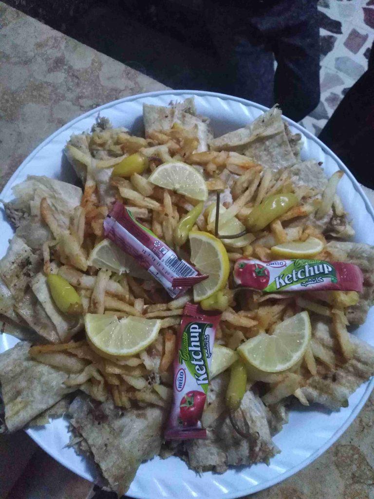 شاورما الدجاج 😁