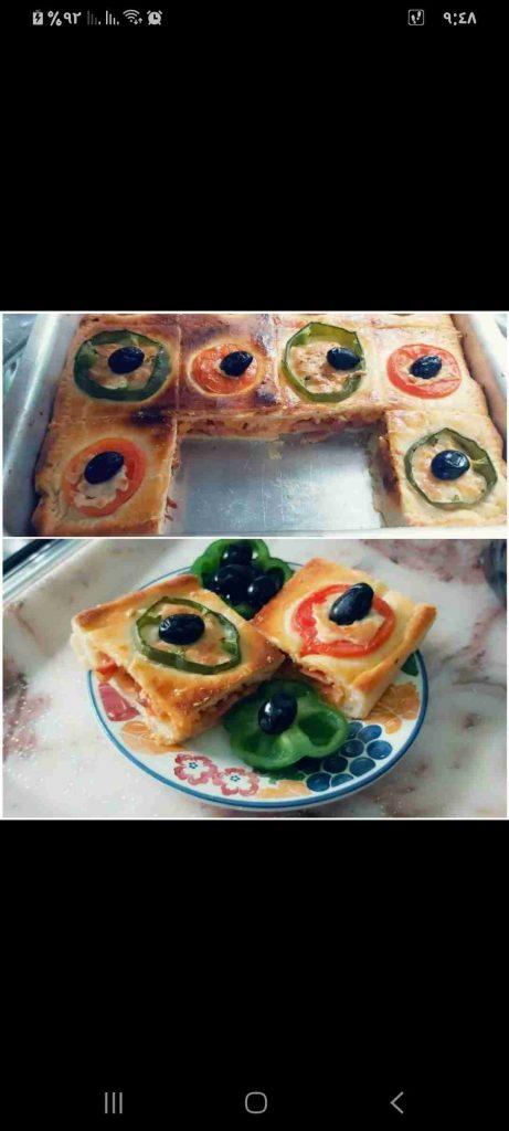 البيتزا المغطاة...ولاااا أرووووع.... #دورة_طبخ 1 الفطائر والمعجنات...