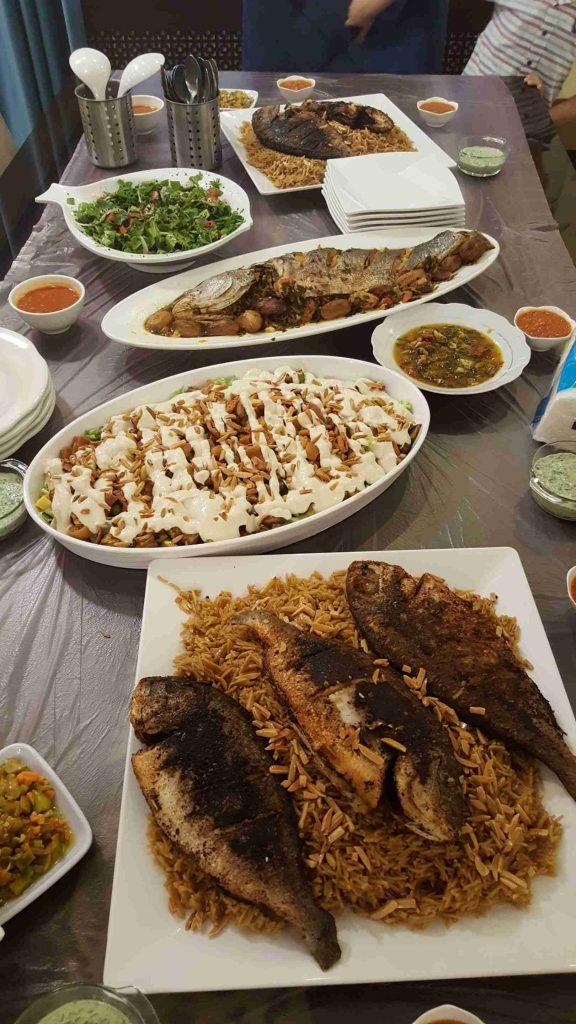 سفرة اسماك ملكة رمضان