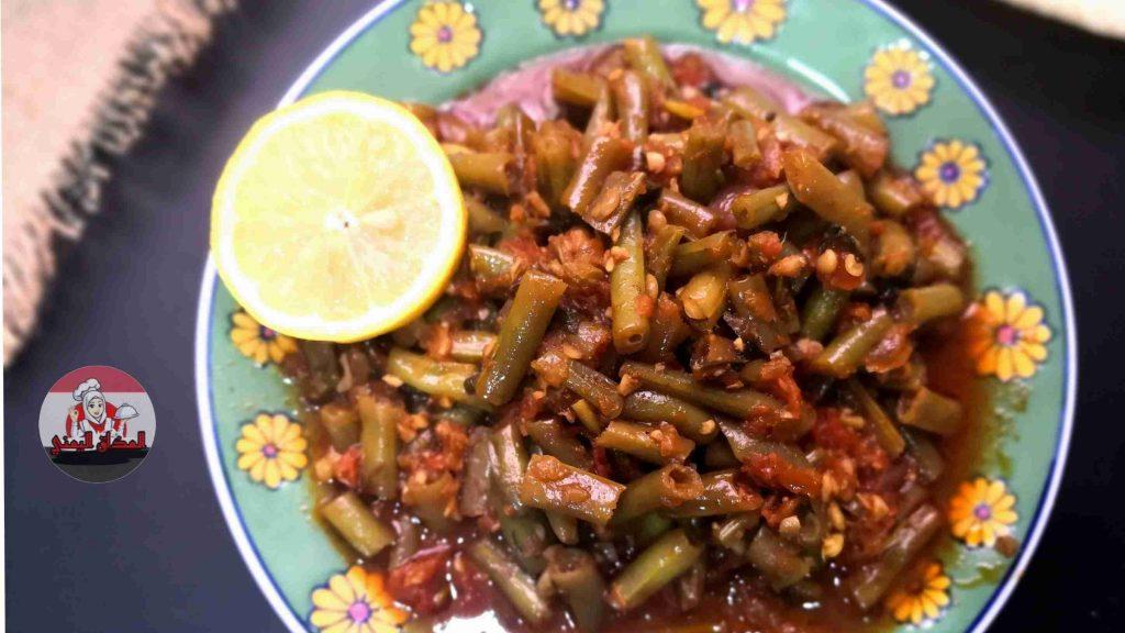 طريقة الفاصوليا الخظراء وجبة لذيذة و مفيده جدا (قناة المذاق اليمني الأصيل)